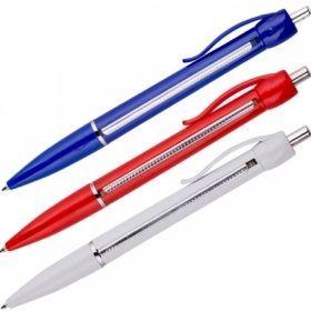 """Ручка автоматическа синяя """"Шпаргалка"""" 0,7 мм в ассортименте"""