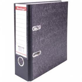 Папка-регистратор А5 Berlingo картонная 70 мм, с карманом на корешке