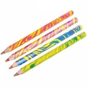 """Карандаш """"Rainbow"""" с многоцветным грифелем, заточенный"""