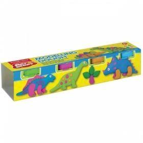 """Масса для лепки """"Modelling Dough №2"""" 4 цвета"""