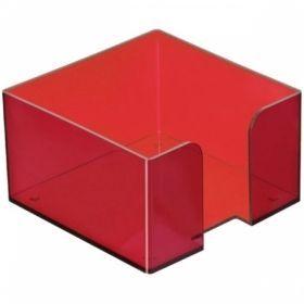 Подставка для блок-кубиков СТАММ 9х9х5 см в ассортименте