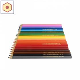 Карандаш Сибирский Кедр цветной шестигранный заточенный в ассортименте