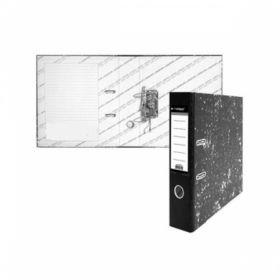 Папка-регистратор inФОРМАТ А4 картонная, мрамор, 75мм собранный