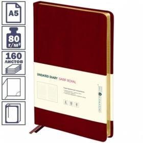 """Ежедневник Greenwich Line """"Sarif Royal"""" формата А5 недатированный, 160 листов, в ассортименте"""