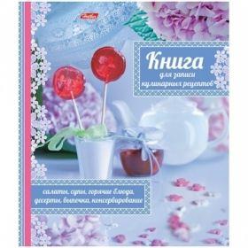 """Книга для записи рецептов на кольцах """"Кулинария как искусство"""" формата А5, 80 листов"""