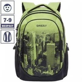 Рюкзак Grizzly 28х44х23 см, 3 отделения, 2 кармана