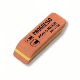 Ластик KOH-I-NOOR PROGRESSO 6821/80 (4B-6H) каучук 41x14x8 мм