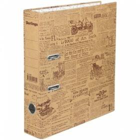 "Папка-регистратор Berlingo ""Newspaper"", 70 мм, картон"