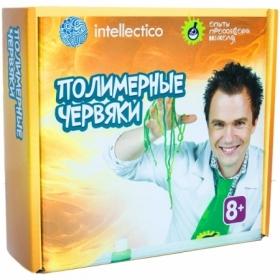 """Набор для опытов Intellectico """"Опыты профессора Николя. Полимерные червяки"""""""
