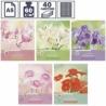 """Тетрадь А5 в клетку на скрепке ArtSpace """"Цветы. Blooming moments"""", 40 листов"""