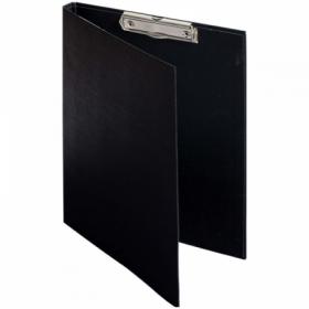 Папка-планшет с зажимом OfficeSpace А4 черная, бумвинил