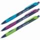 """Ручка шариковая автоматическая Berlingo """"Riteline"""" синяя 0.7 мм, ассорти"""