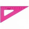 "Треугольник Стамм ""Neon"" 30°/10 см , 4 цвета ассорти"