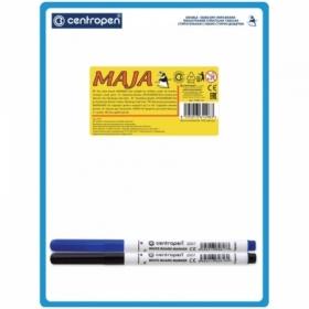 Доска для рисования с маркером двухсторонняя Centropen А5