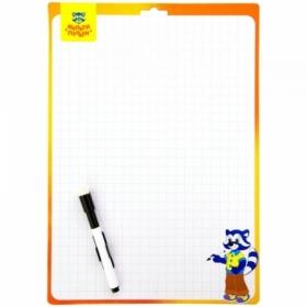 Доска для рисования с маркером двухсторонняя Мульти-Пульти 34х49 см