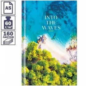 """Ежедневник недатированный А5 7БЦ OfficeSpace """"Природа.Inside the nature"""", 160 листов"""