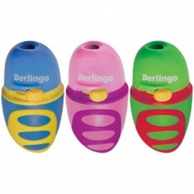 "Точилка пластиковая Berlingo ""Riddle"" c регулятором заточки грифеля"