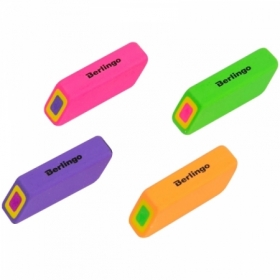 "Ластик Berlingo ""Swift"" прямоугольный скошенный, термопластичная резина, 57х15х15 мм"