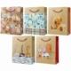 Пакет подарочный Русский дизайн 18х23х10 см, крафт, в ассортименте