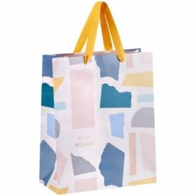 """Пакет подарочный MESHU """"Pastel colors"""" 26*32*12 см, ламинированный"""