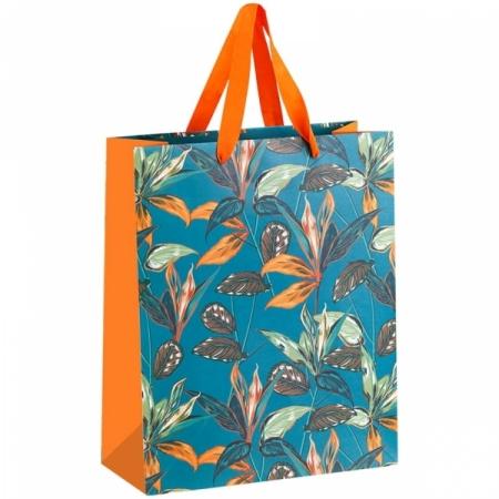 """Пакет подарочный MESHU """"Tropical forest"""" 26*32*12 см, ламинированный"""