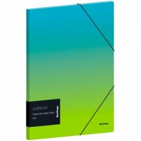 """Папка для тетрадей на резинке Berlingo """"Radiance"""" А5+, 600 мкм, в ассортименте"""