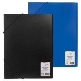 Папка на резинке OfficeSpace А4 500 мкм в ассортименте