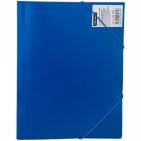 Папка на резинке OfficeSpace А4 400 мкм в ассортименте