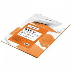 Бумага цветная А4 OfficeSpace intensive 50 листов, в ассортименте