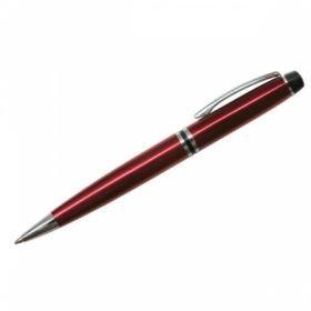 """Ручка шариковая """"Silk Prestige"""", корпус бордо, в пластиковом футляре"""