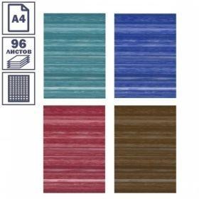 Тетради общие А4, 96 листов, в ассортименте