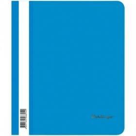 Папка-скоросшиватель А5 Berlingo 180мкм, синяя с прозрачным верхом