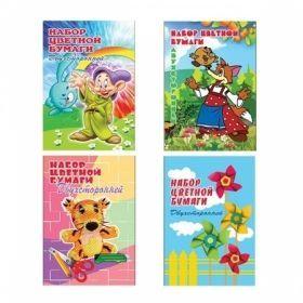 Набор двухсторонней цветной бумаги Гродненская типография