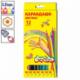 Набор цветных карандашей Каляка-Маляка 12 цветов, заточенные