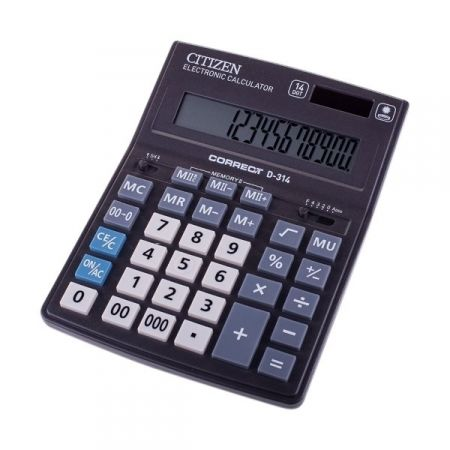 Калькулятор настольный Citizen Correct D 14 разрядов