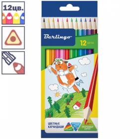 """Набор цветных карандашей """"Жил был кот"""" 12 цветов"""