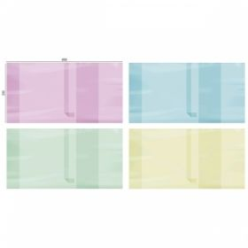 Обложка цветная для учебников универсальная ArtSpace 233х450 мм с закладкой, 200 мкм