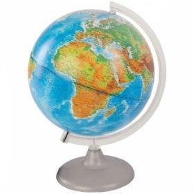 """Глобус физико-политический """"Глобусный мир"""" 25 см, с подсветкой на круглой подставке"""