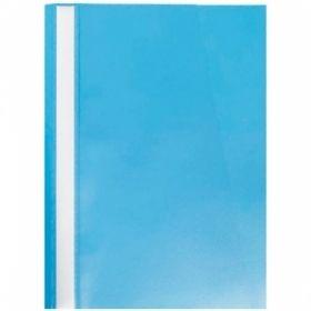Папка-скоросшиватель А4 OfficeSpace с прозрачным верхом, 160 мкм, в ассортименте