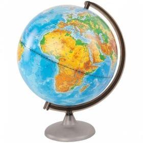Глобус физический Глобусный мир, 25 см, на круглой подставке