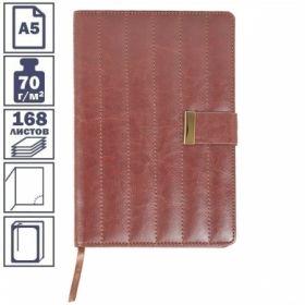 Ежедневник inФОРМАТ БРУКЛИН формата А5 полудатированный, 192 листов, в ассортименте