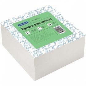 Блок для записи OfficeSpace 9х9х4,5 см белый