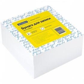 Блок для записи на склейке OfficeSpace 9х9х4,5 см белый