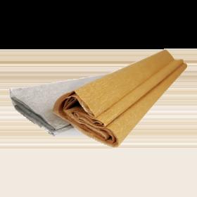 Бумага цветная крепированная Каляка-Маляка 50х250 см, цвета золото и серебро