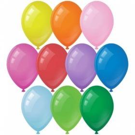 Воздушные шары ArtSpace М12/30см, пастель, 10 цветов ассорти, 50 шт