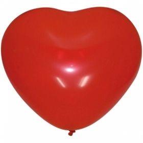 """Воздушные шары Поиск """"Сердце"""" М10/25см, декор, 50 шт"""