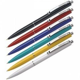"""Ручка шариковая автоматическая Schneider """"K15"""" синяя, корпус ассорти, 1 мм"""