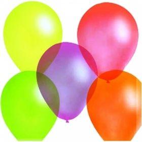Воздушные шары Поиск флуоресцентные М10/25см, 100 шт
