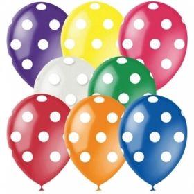 """Воздушные шары Поиск """"Горошек"""" M12/30см, декор, 25 шт"""