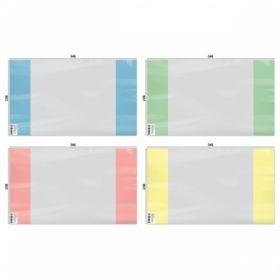 Обложка с цветным клапаном 210х350 мм для дневников и тетрадей ArtSpace, ПВХ 120 мкм